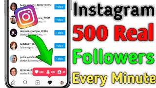 How To Increase Instagram Followers // How To Get Free Instagram Followers And Likes 2020