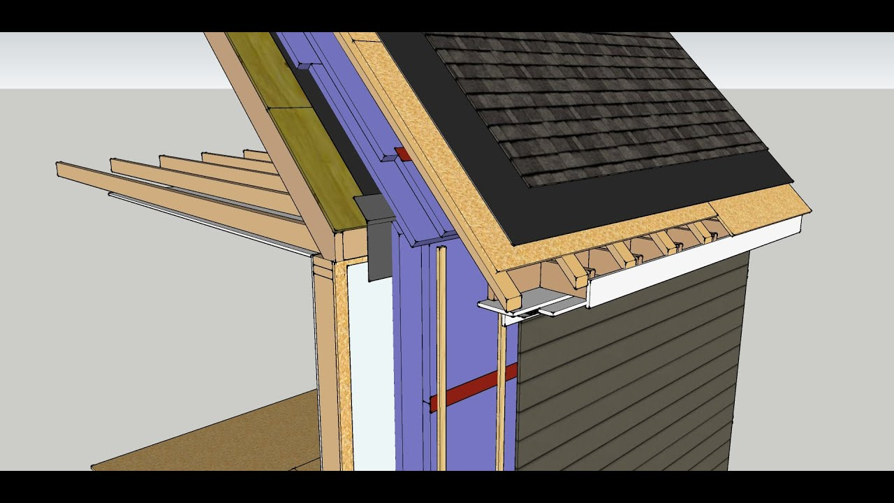 Exterior Insulation Retrofit Walls And Unvented Roof Youtube