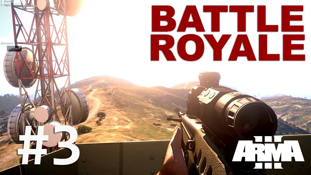 how to play battle royale arma 3
