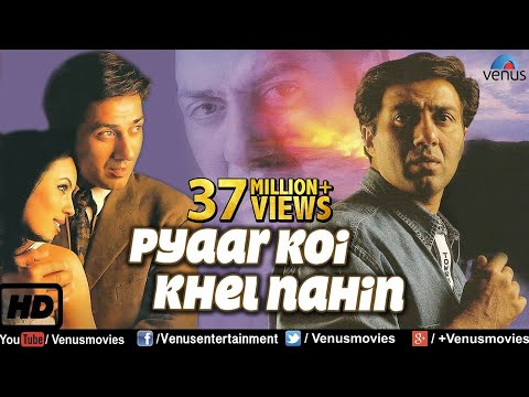 Pyaar Koi Khel Nahin {HD} |  Hindi Full Movie | Sunny Deol Full Movies | Latest Bollywood Movies