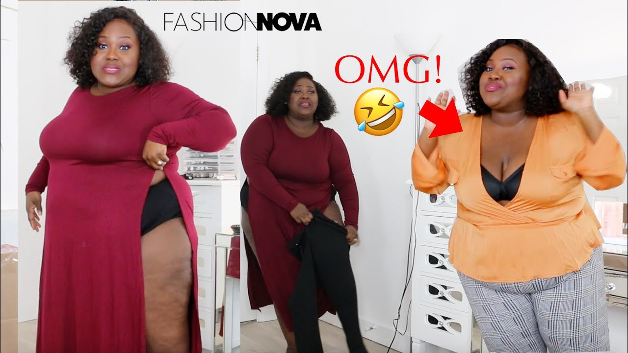 7cc6a7d21f8 FASHION NOVA YOU SENT ME A SIZE SMALL!! I TRY TO SQUEEZE IN IT LOL! MY  FAVOURITE FASHION NOVA HAUL! https   youtu.be Jmt4Bh -Rls Hey loves!