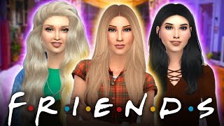 🗽🍕THE FRIENDS CAST!🍕🗽 In the Sims 4!