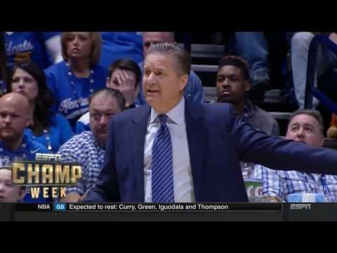 2017 Kentucky Basketball: SEC Tournament
