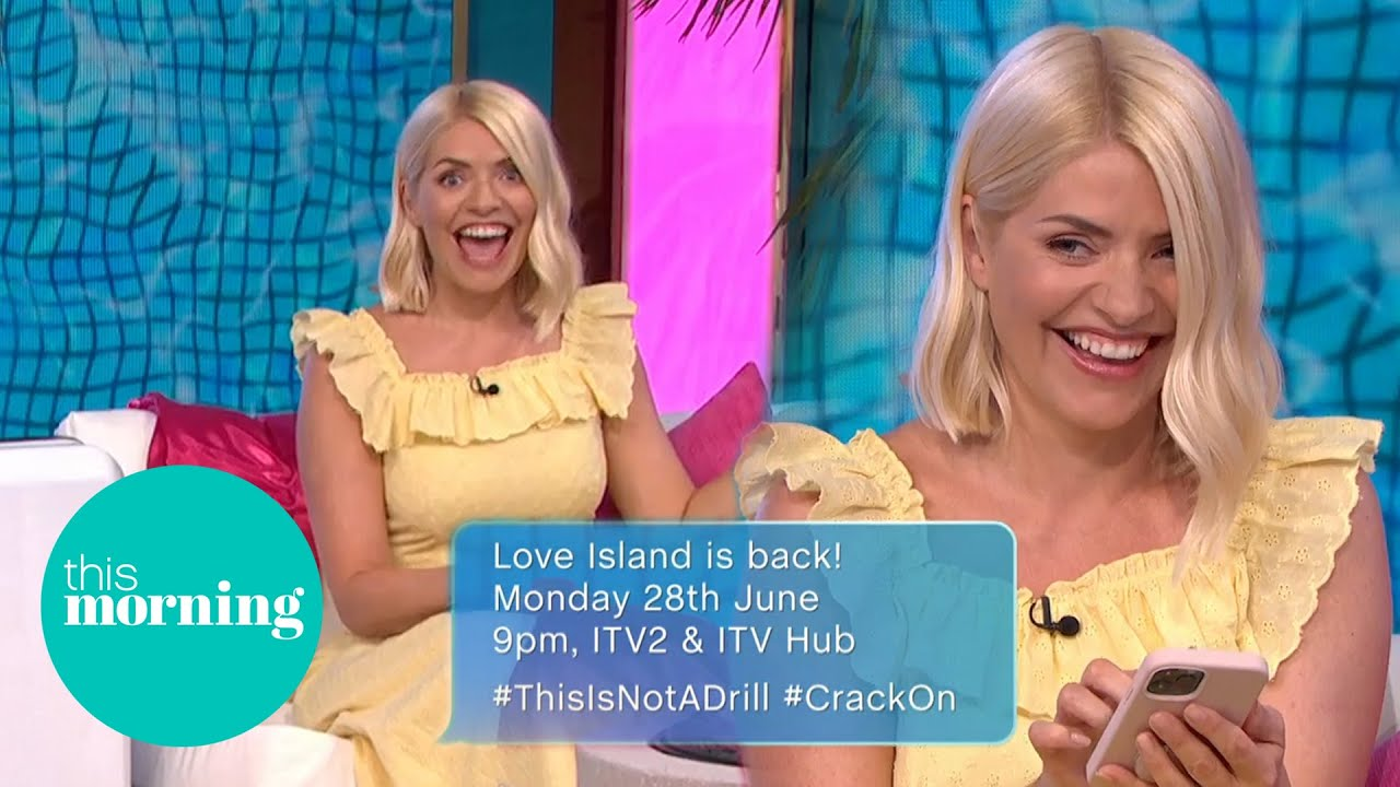 Holly Gets Excited Making Love Island Exclusive Announcement | This Morning
