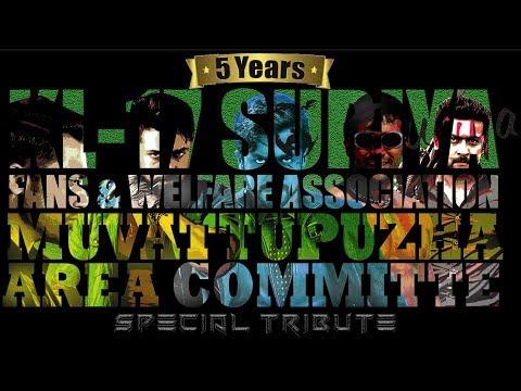 Suriya Mashup 2018  5 years of Muvattupuzha Suriya fans club  20 years of Suriyaisam