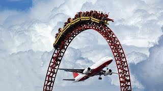 TOP 10 TALLEST ROLLER COASTERS IN THE WORLD! (200+ KM/H!)