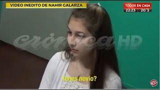 Video inédito de Nahir Galarza a los 16 años denunciando un abuso en manada