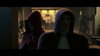 Оби-Ван против члена Дозора смерти Звёздные войны: Войны клонов (2 сезон 14 серия)