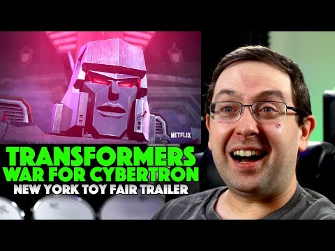 REACTION! Transformers: War For Cybertron Trilogy: Siege New Your Toy Fair Trailer - Netflix Series