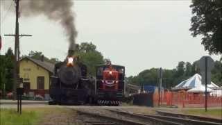 Valley Railroad Circus Train, July 2011