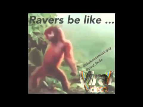 Rave monkey dance