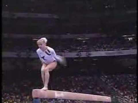 Shannon Miller  1996 Olympics EF  Balance Beam