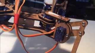 робототехника, шагающий робот.
