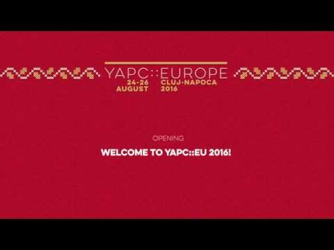Welcome to YAPC::Europe 2016: Amalia Pomian, Mihai Pop