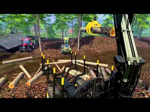 Farming Simulator 15 – Видео из игры