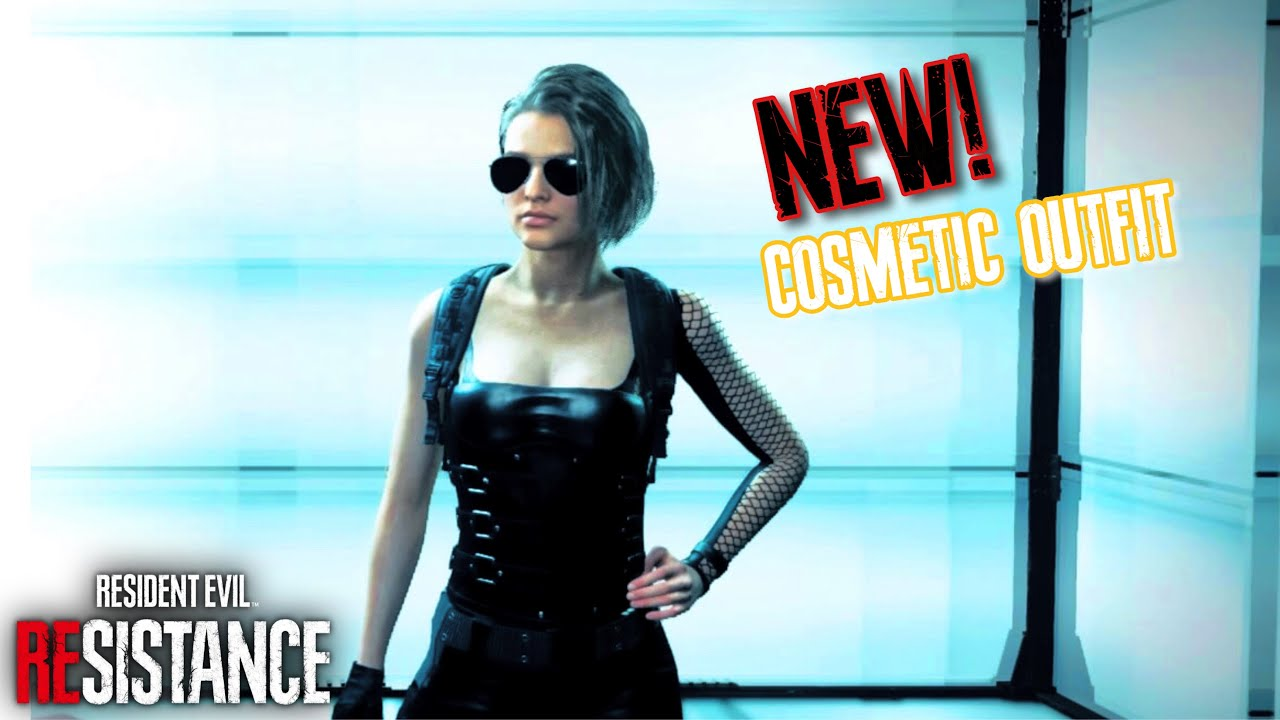 Resident Evil Resistance Jill Valentine Gameplay New Cosmetic