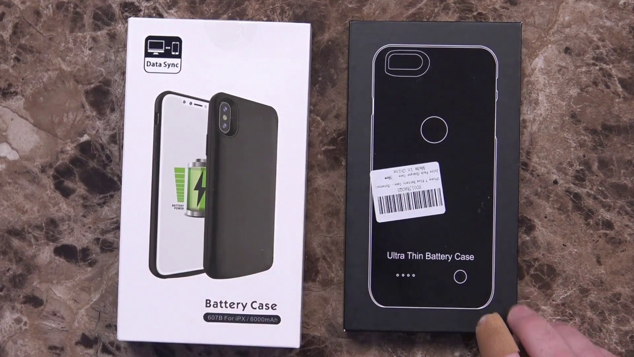best website 1cd42 ba802 iPhone X and iPhone 8 Plus Battery Cases Unboxing and First Impressions