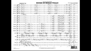 Boogie On Reggae Woman by Stevie Wonder/arr. Mike Tomaro