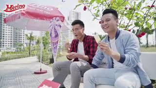 Bùi Tiến Dũng và Quang Hải quảng cáo kem Merino