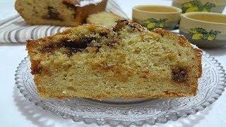 Plumcake Cioccolato E Banane - Banana Bread