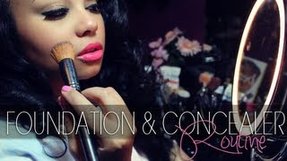 beauty   foundation concealer routine   bh cosmetics mac