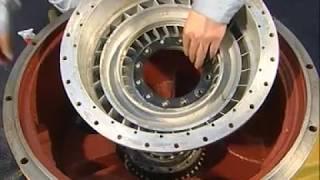 Разборка и сборка гидротрансформатора КПП ZL 40 50 китайских фронтальных погрузчиков