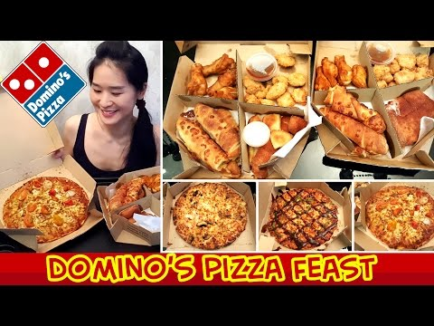 Domino's Pizza (Eating Show - Mukbang) S03E02