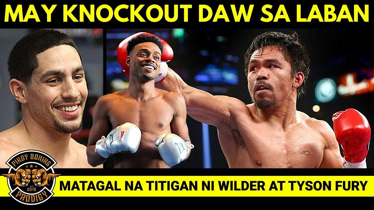 Danny Garcia: Age Doesn't Matter, si Pacquiao ay ALAMAT   Fury at Wilder matindi ang Face-Off