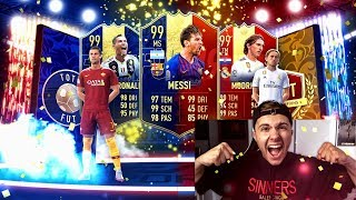 FIFA 19: TOTY PACK OPENING + Fut Champions REWARDS 🔥🔥