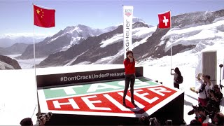 G.E.M. 鄧紫棋 performs on the Swiss Mountain Top Jungfrau for TAG HEUER (Full Performance)