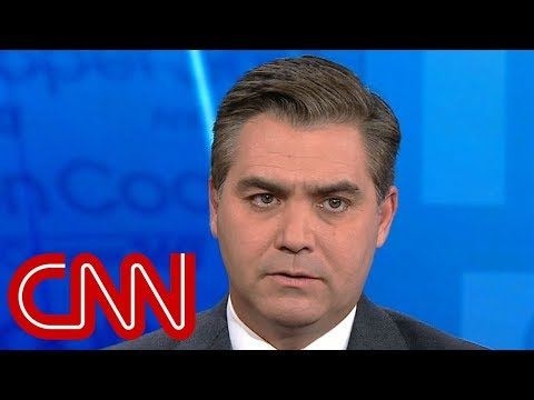 White House pulls Jim Acosta's press pass