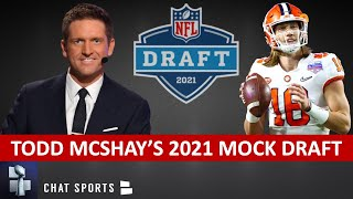 Todd McShay 2021 NFL Mock Draft: Reacting To His First Way-Too-Early NFL Mock Draft