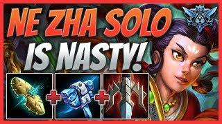 Ne Zha Solo Is Nasty! SMITE Ranked Conquest (Diamond 2)
