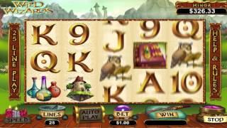 Wild Wizards™ online slot by RTG video preview(Watch awesome Wild Wizards slot game by RTG video preview. PLAY NOW: http://www.slotozilla.com/free-slots/wild-wizards-2., 2015-09-01T11:26:48.000Z)