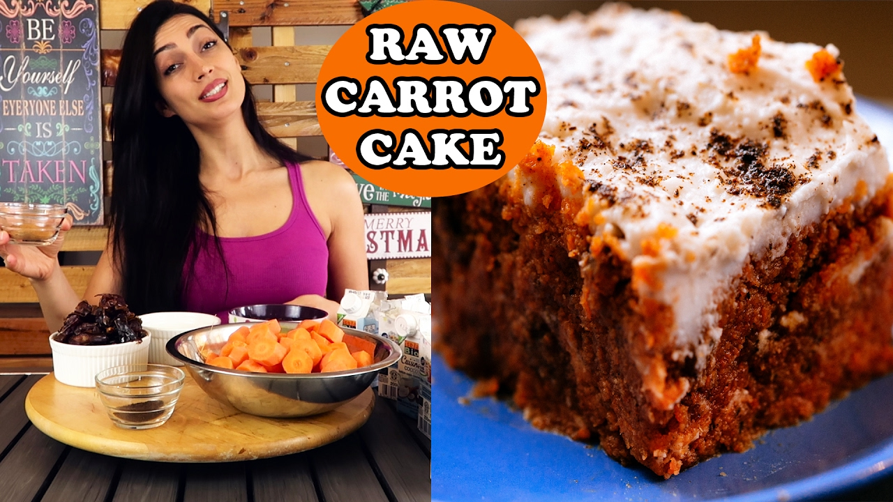 Raw vegan carrot cake easy dessert recipe youtube raw vegan carrot cake easy dessert recipe forumfinder Gallery
