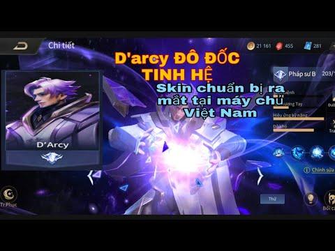 LIÊN QUÂN MOBILE | D'ARCY ĐÔ ĐỐC TINH HỆ | Trang Phục Mới Chuẩn Bị ra mắt tại máy chủ Việt Nam