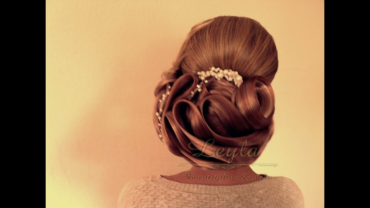 Leyla Hair And Beauty Friseursalon Bielefeld Hochsteckfrisuren Hochzeit Teil 3 Eventstyling