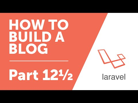 Part 12½ - Javascript Form Validation [How To Build A Blog With Laravel 5 Series]