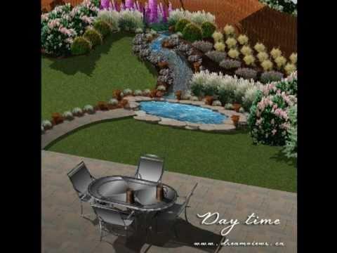 Punch Home U0026 Landscape Sketch   Pond
