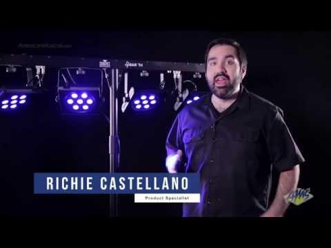 Chauvet DJ 4BAR Tri Stage Lighting System - Chauvet 4BAR Tri