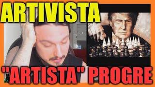 """🎨""""ARTISTA"""" de IZQUIERDA y su CUTREZ🎨"""