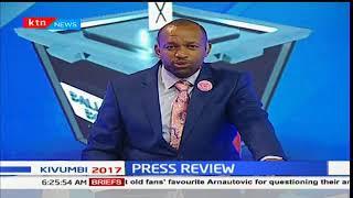 IN THE HEADLINES: The six pillars of Raila Odinga election petition