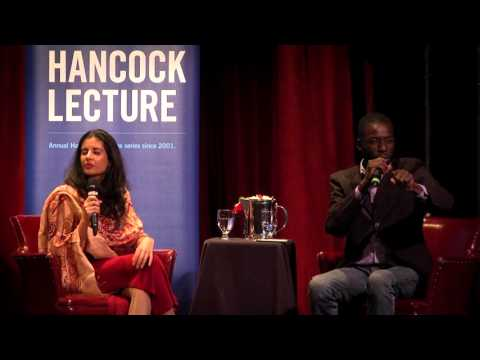 Hancock Lecture 2016 Discussion