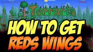 Terraria how to get reds wings