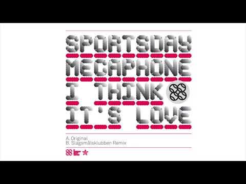 Sportsday Megaphone - I Think It's Love (Static)