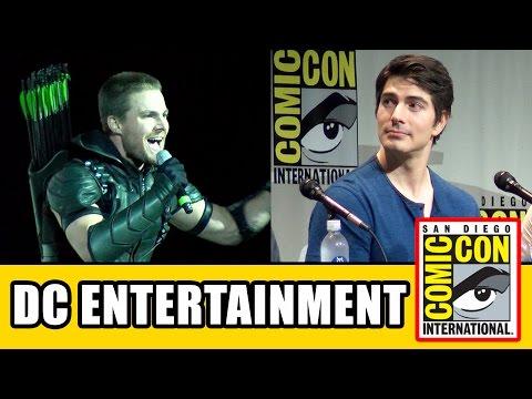 Warner Bros DC TV Comic Con Panels - Arrow, The Flash, DC