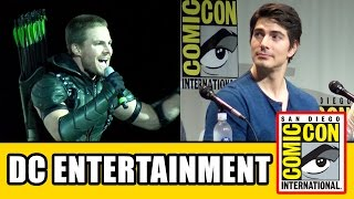 Warner Bros DC TV Comic Con Panels - Arrow, The Flash, DC