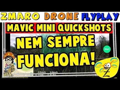 QuickShots Do Mavic Mini: Nem Sempre São Perfeitos, Veja No Zmaro Drone FlyPlay...