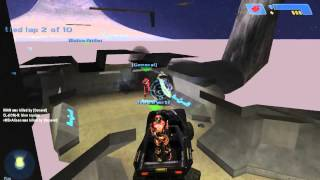 Halo Custom Edition - Team Race - Death Island PC GAMEPLAY