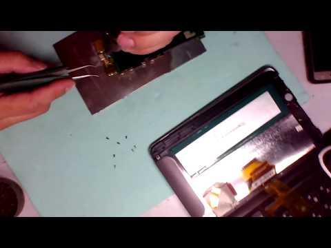 Разборка и ремонт Texet TM-7026
